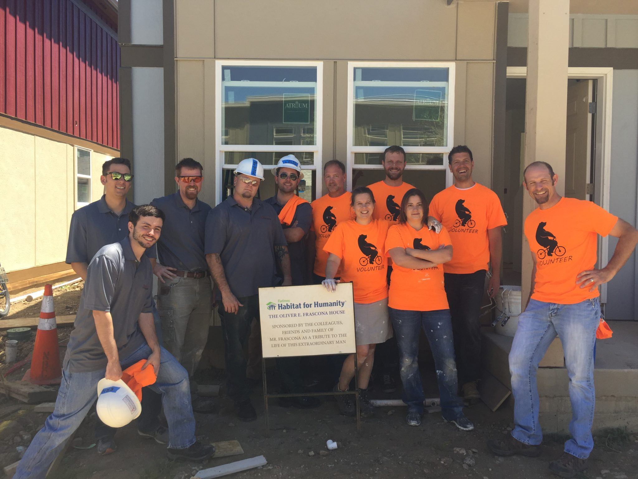Anthem Structural Engineers volunteer for Habitat for Humanity 2017